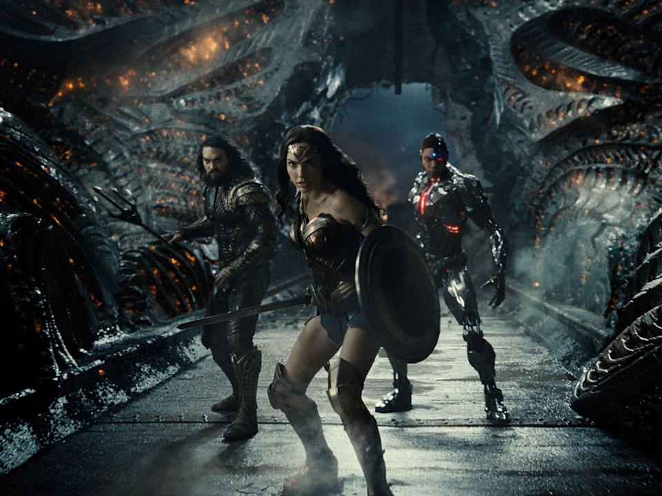 """Zack Snyder's Justice League"" ist die neu geschnittene XXL-Version des Films von 2017. (Bild: 2021 WarnerMedia Direct, LLC. All Rights Reserved.)"