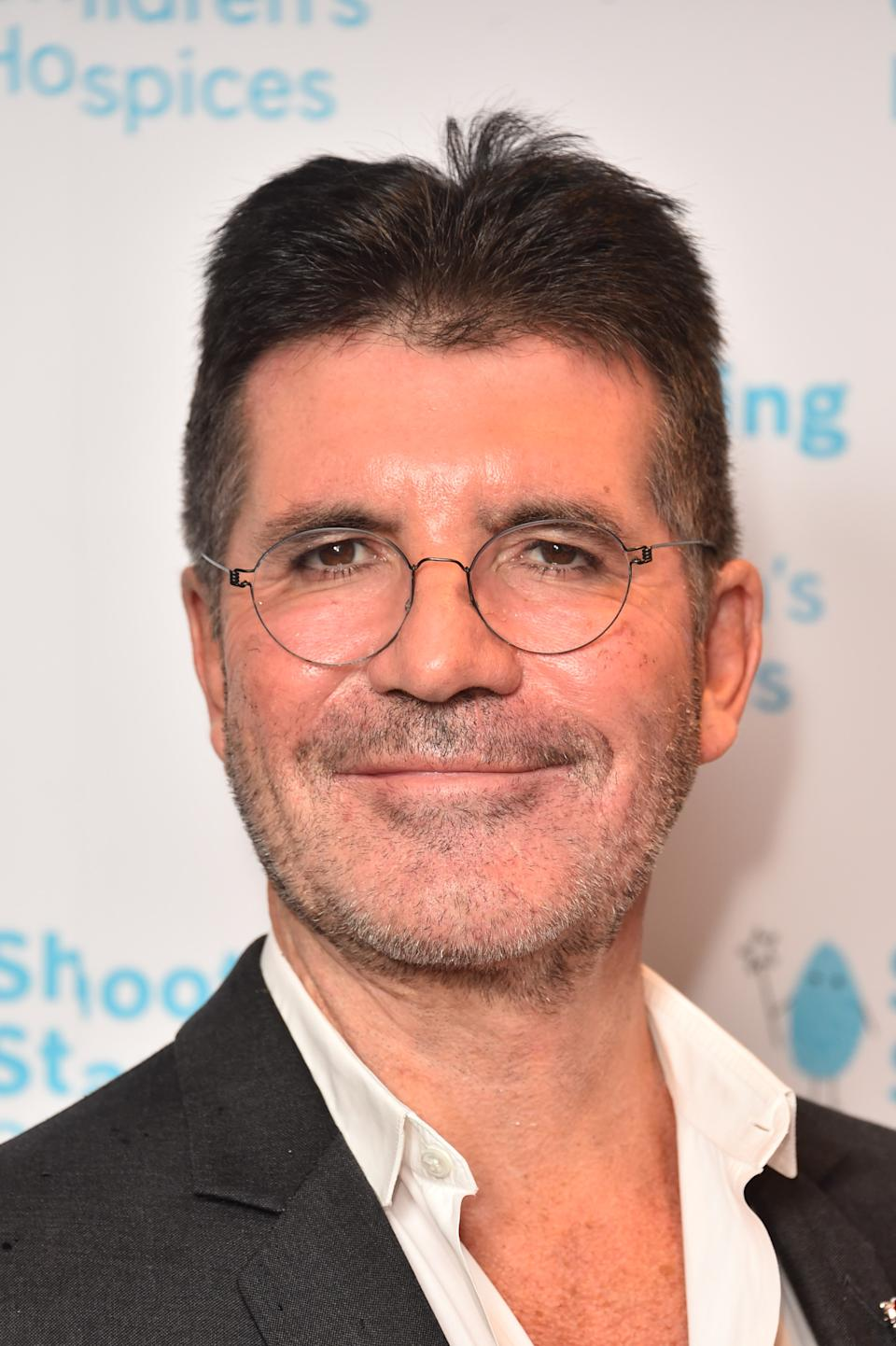 Simon Cowell attending the Shooting Star Ball in aid of Shooting Star Children's Hospices, at the Royal Lancaster Hotel in London. (Photo by Matt Crossick/PA Images via Getty Images)