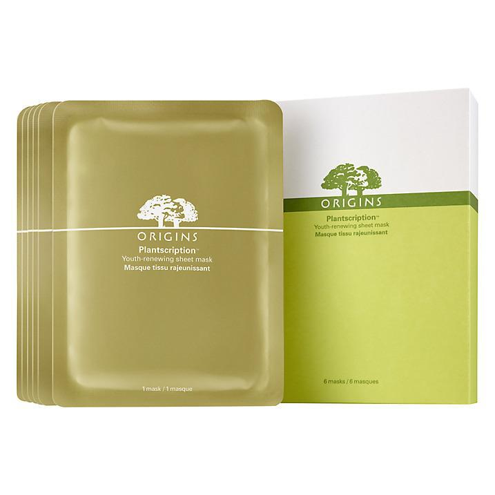 """<p>If you're interested in the environmental impact of your product, the ingredients in this sheet mask all come from renewable resources. The plant-based sheet masks deliver an infusion of anti-ageing botanicals like Raspberry Seed and Rose Hip Oil, for a youthful looking glow in 10 minutes.<br><a href=""""http://tidd.ly/58d11494"""" rel=""""nofollow noopener"""" target=""""_blank"""" data-ylk=""""slk:Buy here"""" class=""""link rapid-noclick-resp"""">Buy here</a> </p>"""