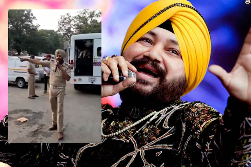 Daler Mehndi Mighty Impressed by Cop Who Sang 'Bolo Ta Ra Ra' for Traffic Awareness