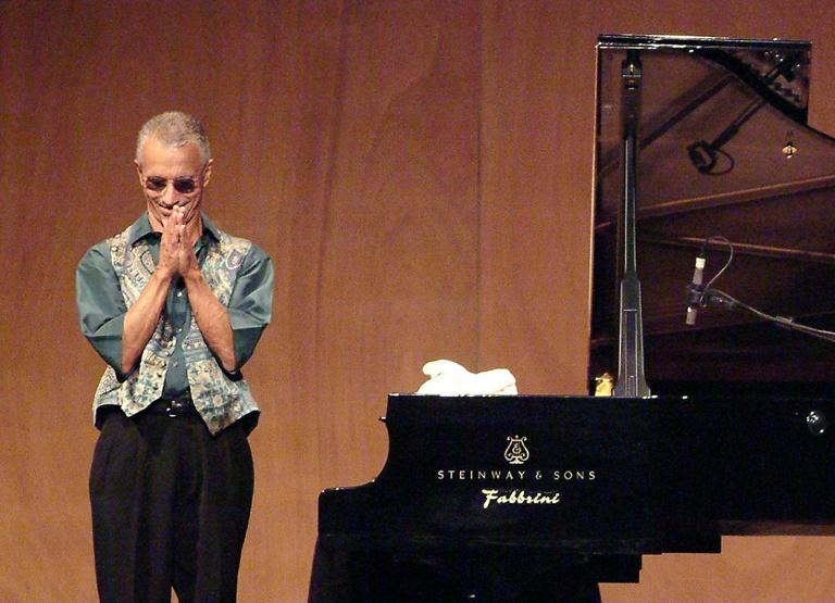 Keith Jarrett, shown here in 2006 after a jazz concert in Venice, says he may never be able to play in public again