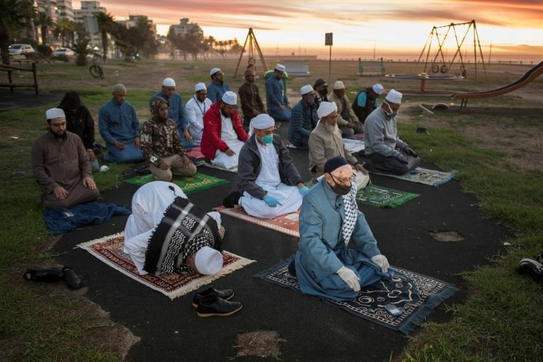 South Africa's Muslims have been told to observe social distancing during prayer
