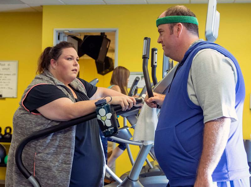 "Chrissy Metz says Chris Sullivan's ""This Is Us"" fat suit does not damage Toby's ""authenticity"""
