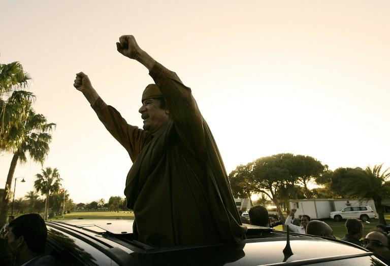 Moamer Kadhafi's 42-year grip on power ended with the Arab Spring uprising 10 years ago