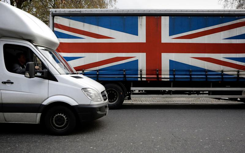 The estimated 2.5m vans on UK roads are seen as the backbone of the economy - Reuters