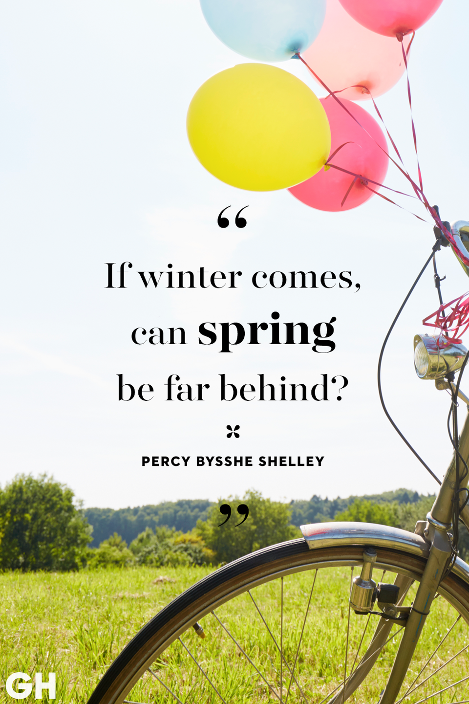 <p>If winter comes, can spring be far behind?</p>