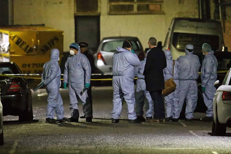 Mass brawl: Three men died after two groups clashed in the street (NIGEL HOWARD ©)