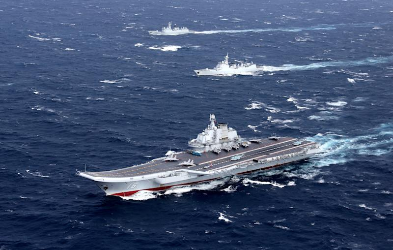 CHINA-TAIWAN/CARRIER