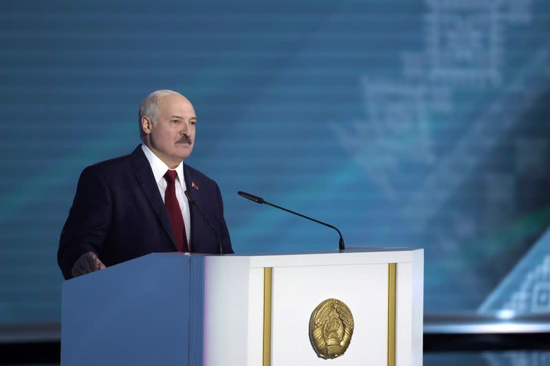 No election protests, Belarus' leader warns