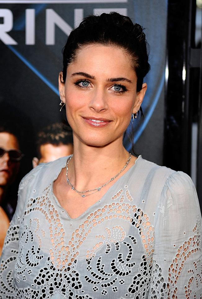 """<a href=""""http://movies.yahoo.com/movie/contributor/1800018738"""">Amanda Peet</a> at the Los Angeles premiere of <a href=""""http://movies.yahoo.com/movie/1808665084/info"""">X-Men Origins: Wolverine</a> - 04/28/2009"""