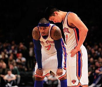 Lin's next challenge is to figure out how to get the Knicks' All-Stars, like Carmelo Anthony, into a flow without losing his own aggressiveness