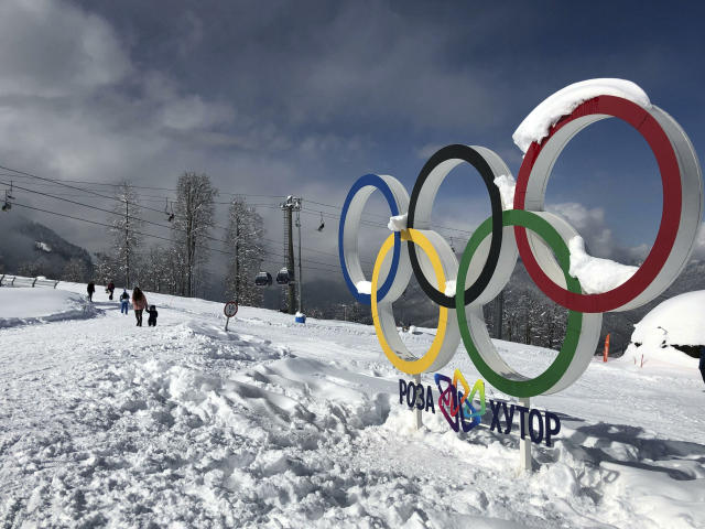 It only took a year for Russia to face another Olympic ban after its reinstatement. (AP Photo/James Ellingworth)