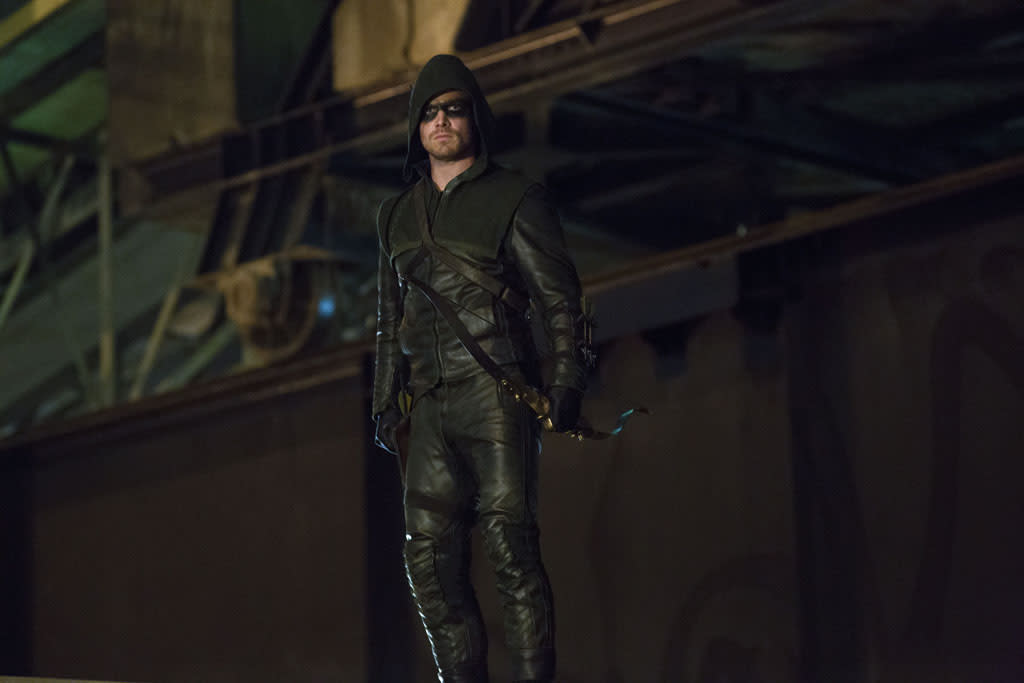 """Honor Thy Father"" -- Stephen Amell as Arrow"