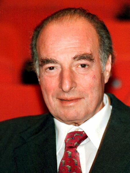 FILE - This is a Nov. 30, 1998 file photo of financier Marc Rich shown in in Zug, central Switzerland. An associate of Marc Rich said Wednesday June 26, 2013, that the trader pardoned by President Clinton has died in Switzerland.(AP Photo/Guido Roeoesli File) NO SALES TV OUT