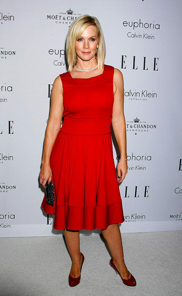 """90210"" star Jennie Garth looks right at home at the Beverly Hills event. Jeffrey Mayer/<a href=""http://www.wireimage.com"" target=""new"">WireImage.com</a> - October 6, 2008"