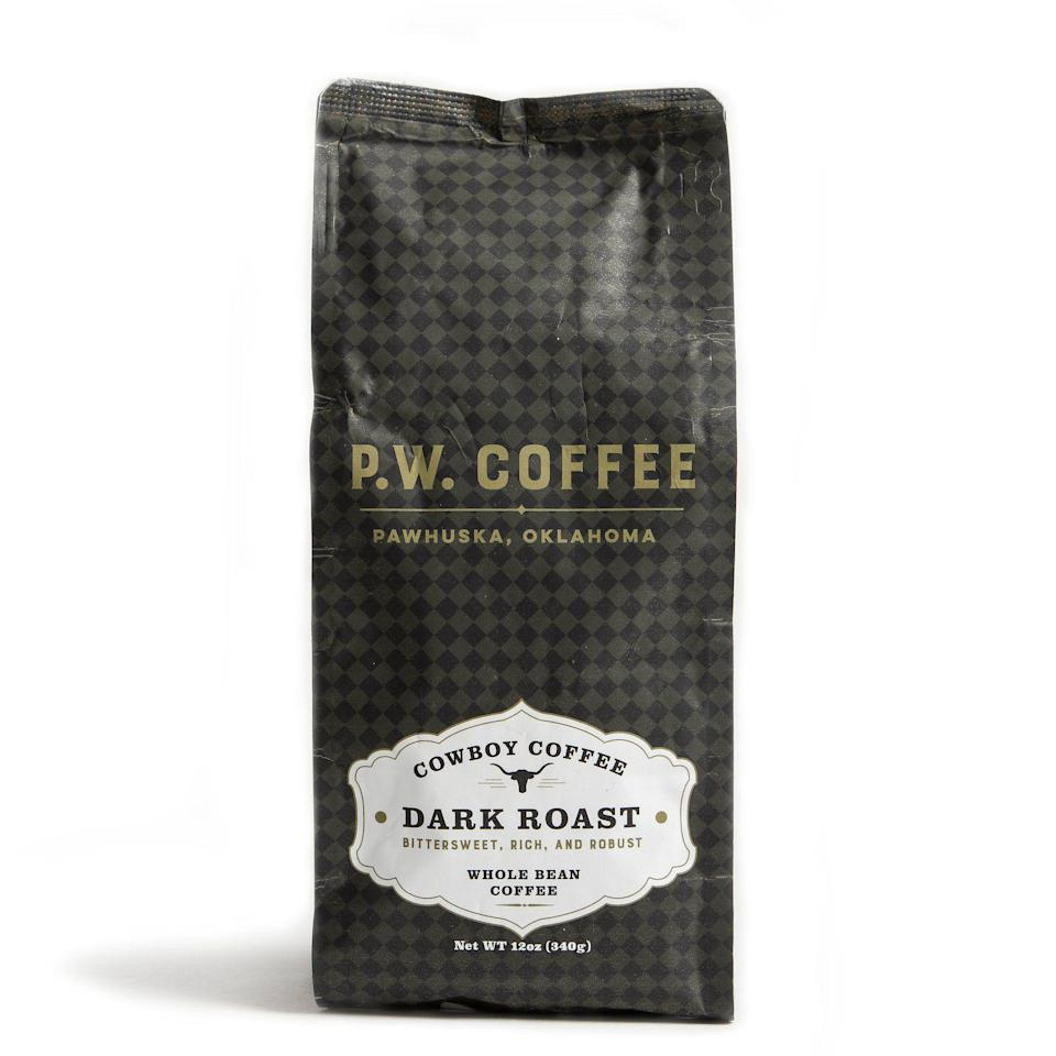 """<p>themercantile.com</p><p><strong>$14.00</strong></p><p><a href=""""https://www.themercantile.com/collections/all-products/products/p-w-coffee-dark-roast"""" rel=""""nofollow noopener"""" target=""""_blank"""" data-ylk=""""slk:Shop Now"""" class=""""link rapid-noclick-resp"""">Shop Now</a></p><p>Your dad's got to try Ree's smooth, simple roasts. They'll be a wonderful addition to his morning routine. </p>"""