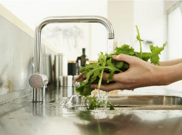 <p><b>Eat clean, fresh food:</b> Make sure that you wash all your fruits and vegetables before consuming them, especially leafy vegetables. Steam the leafy vegetables and your cauliflower in order to kill the germs. Contaminated food might lead to illnesses such as jaundice.<br><br>Eating freshly cooked food is recommended. Soups and stews are helpful, as they are light and nutritious, but filling. Try and eat cooked food instead of uncooked vegetables and salads, unless they are organic.</p>