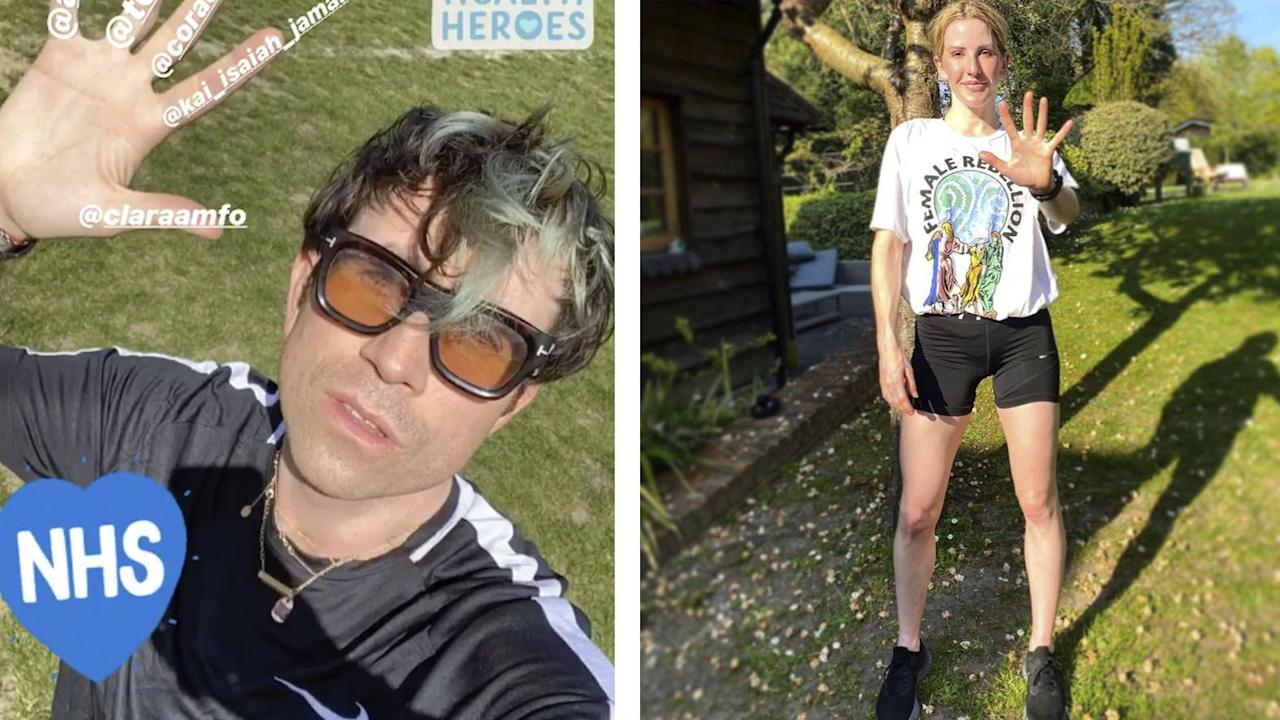 "<p><a href=""https://www.runnersworld.com/uk/news/a32026827/run-heroes-nhs-workers/"" target=""_blank"">Run For Heroes</a>, which launched at the end of March, encourages people to use their daily exercise to run 5km, donate £5 and nominate five people to do the same. The social media campaign encourages people to use their daily outdoor exercise allowance to run, walk or cycle 5km – maintaining a safe distance from others – and then donate £5 via the Run For Heroes <a href=""https://uk.virginmoneygiving.com/fundraiser-display/showROFundraiserPage?userUrl=RunForHeroes&isTeam=true"">giving page</a>. Supporters are then urged to spread the message by sharing a picture of them exercising on Instagram, tagging <a href=""https://www.instagram.com/run.for.heroes/?hl=en"">@Run.For.Heroes</a> and nominating five of their friends to take part and donate.</p><p>As well as the 200,000 other runners who have taken part in the challenge, a number of different celebrity runners have also run 5K for the NHS. Here's some of our favourites: </p>"