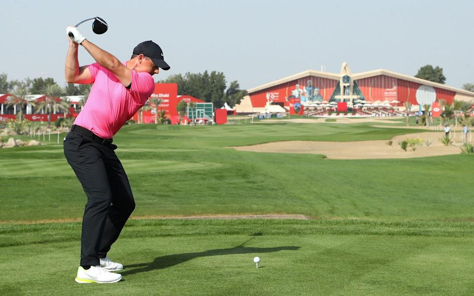 Rory McIlroy - GETTY IMAGES
