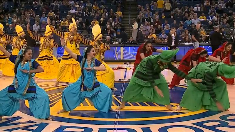 Say Balle Balle to This Bhangra Performance in the NBA