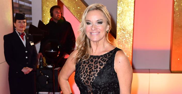 Tamzin Outhwaite says she and her daughter were denied entry to India. (PA Images)