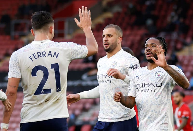 Manchester City Back To Winning Ways With 1 0 Victory At Southampton