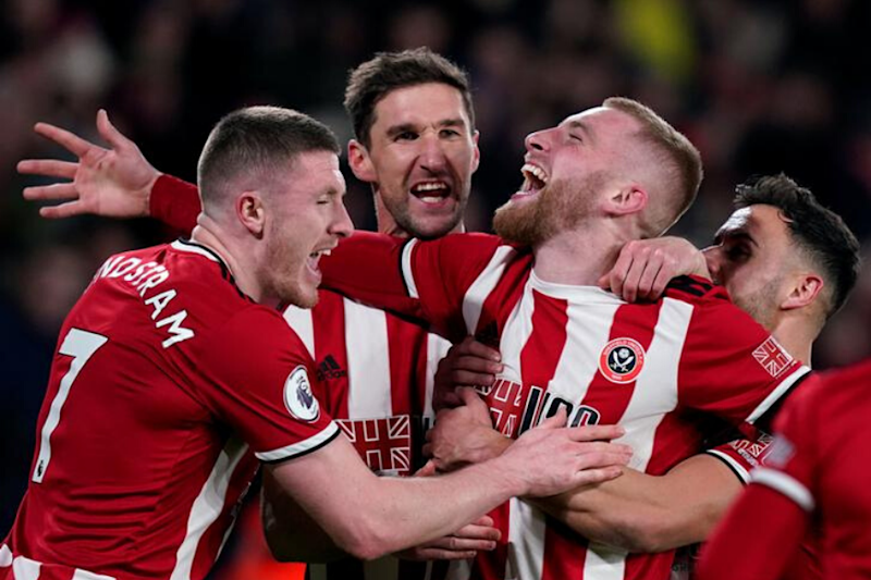Premier League: Sheffield United Up To 5th as Oliver McBurnie Sinks West Ham