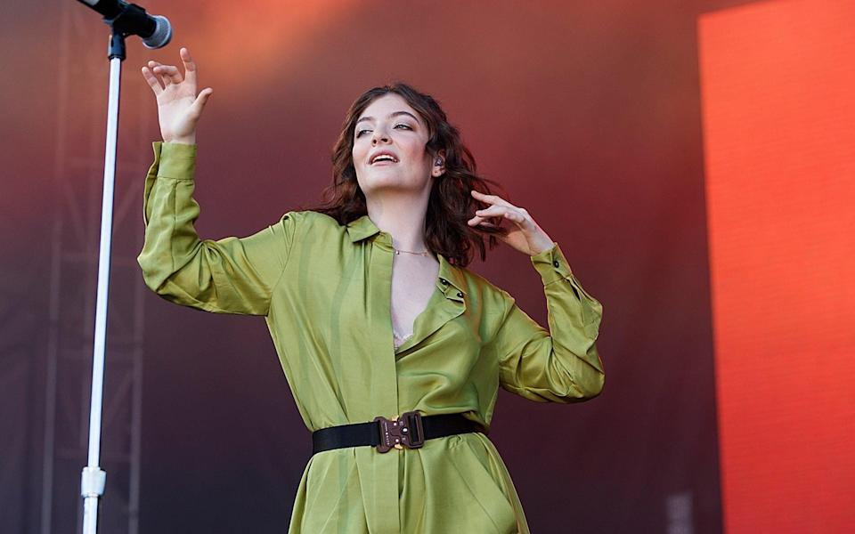 Singer-songwriter Lorde - Andrew Chin