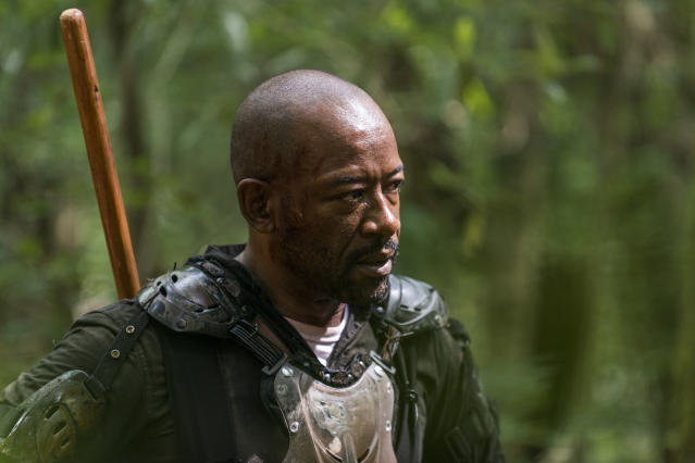 Lennie James as Morgan Jones in <em>The Walking Dead</em>. (Photo: Gene Page/AMC)