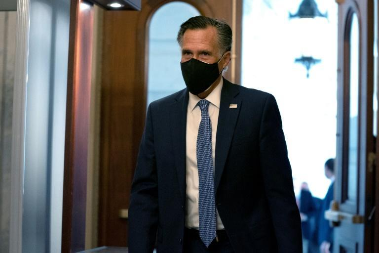 Utah's Republican senator Mitt Romney was the only member of his party to vote to convict Donald Trump in the ex-president's first impeachment trial