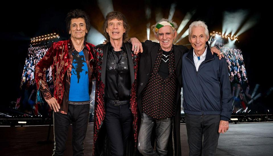 <p>An exclusive image of The Rolling Stones taken on October 25th 2017 in Paris. In conjunction with the announcement of part two of the 'STONES - NO FILTER' tour in Europe and the UK. Starting in Croke Park, Dublin, Ireland on 17th May 2018 and continuing in Manchester, Edinburgh, Cardiff and London.</p>