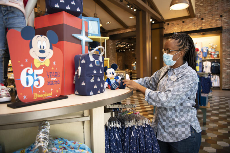 Some of Disney's theme parks have begun a phased process of reopening.(Photo by Derek Lee/Disneyland Resort via Getty Images)