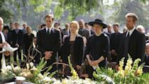 "<p>On the surface, <em>Six Feet Under</em> is just a darkly comedic look at death through the guise of a funeral home. The writing is smart and the acting is stellar, but when you look back on the series, you realize that the cast was kind of stacked: Peter Krause, Lauren Ambrose, Rachel Griffiths, <em>and </em>Dexter before he was Dexter? <em>Damn.</em></p><p><a class=""link rapid-noclick-resp"" href=""https://play.hbonow.com/series/urn:hbo:series:GVU2cbQuR-1FvjSoJATzx?camp=Search&play=true"" rel=""nofollow noopener"" target=""_blank"" data-ylk=""slk:Watch Now"">Watch Now</a><br></p>"