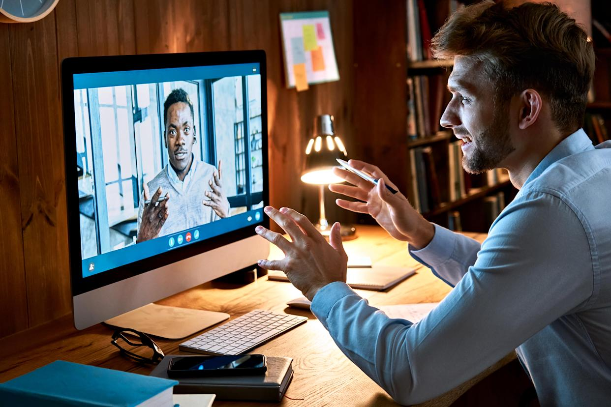 7 ways to optimize your computer for video meetings. (Photo: Getty)