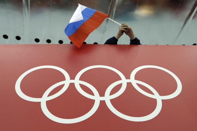 Russia could be facing a four-year ban from hosting major sporting events. (AP Photo)