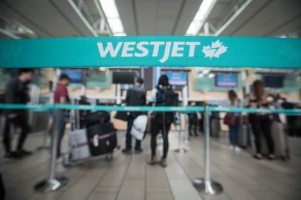 The flightswill be offered up to three times a week in 15towns and cities acrossAlberta, B.C.,Saskatchewan,ManitobaandOntario, the Calgary-based airline said in a Friday press release. (Darryl Dyck/Bloomberg - image credit)