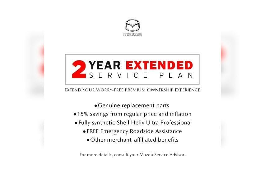 Mazda 2-year Extended Service Plan