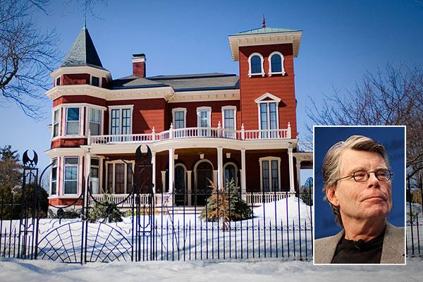 Shelter King Maine : Homes of famous writers