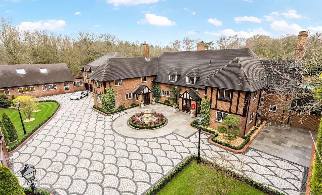 """<p>Situated in the heart of Buckinghamshire, this remarkable Tudor-style mansion manor house has 12 bedrooms, exquisite landscaped gardens, beautiful countryside views and two additional apartments on the estate. We're not surprised it made the top 10...</p><p><a href=""""https://www.onthemarket.com/details/8491282/"""" target=""""_blank"""">This property is for sale for £8.2m via Sotheby's at Onthemarket.com</a>. </p>"""
