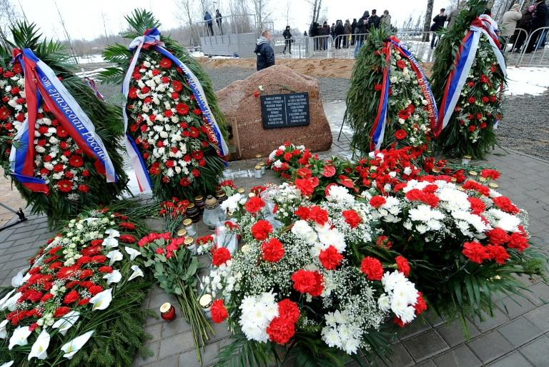 Russia erected a permanent memorial for the 96 Polish officials killed in the 2010 air disaster near Smolensk