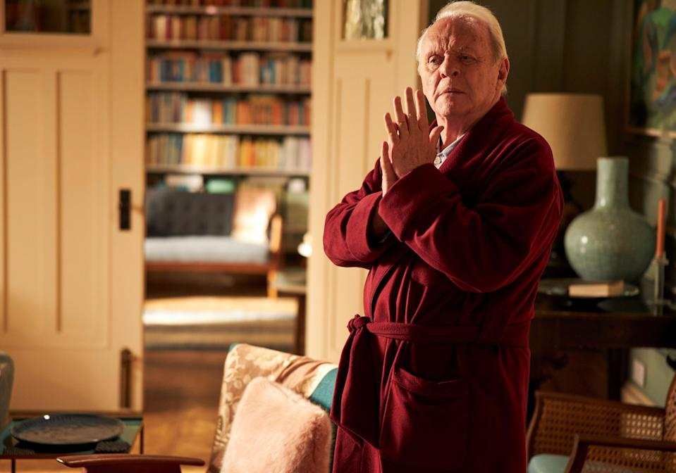 """Anthony Hopkins stars as a man with dementia trying to make sense of his constantly shifting reality in Florian Zeller's """"The Father."""""""