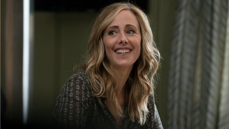 Greys Anatomy Star Kim Raver Celebrates Teddys Season 15 Return
