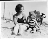 <p>Norma's mom, Gladys, visited her daughter frequently during the early years. </p>