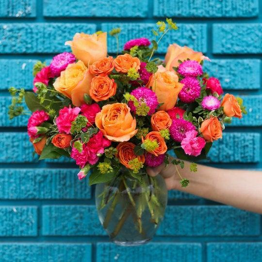 """<h2><a href=""""https://www.teleflora.com/"""" rel=""""nofollow noopener"""" target=""""_blank"""" data-ylk=""""slk:Teleflora"""" class=""""link rapid-noclick-resp"""">Teleflora</a></h2><br><strong>Best For: Budgets</strong><br>For flower delivery options on a budget, consider Teleflora's selection of <a href=""""https://www.teleflora.com/valentines-day-flowers/valentines-discount?catID=cat570005"""" rel=""""nofollow noopener"""" target=""""_blank"""" data-ylk=""""slk:affordable high-quality flowers"""" class=""""link rapid-noclick-resp"""">affordable high-quality flowers</a> that won't break the bank. <br><br><strong>Deal: </strong>A special discount of<strong> 5% off </strong>is automatically applied to first-time orders and the site drops <a href=""""https://www.teleflora.com/valentines-day-flowers/valentines-discount?catID=cat570005"""" rel=""""nofollow noopener"""" target=""""_blank"""" data-ylk=""""slk:flash deals on a daily basis"""" class=""""link rapid-noclick-resp""""><strong>flash deals</strong> on a daily basis</a>.<br><br><strong>Teleflora</strong> How Sweet It Is, $, available at <a href=""""https://go.skimresources.com/?id=30283X879131&url=https%3A%2F%2Fwww.teleflora.com%2Fbouquet%2Fhow-sweet-it-is%3FprodID%3DP_T46-1a%26skuId%3DT46-1A"""" rel=""""nofollow noopener"""" target=""""_blank"""" data-ylk=""""slk:Teleflora"""" class=""""link rapid-noclick-resp"""">Teleflora</a>"""