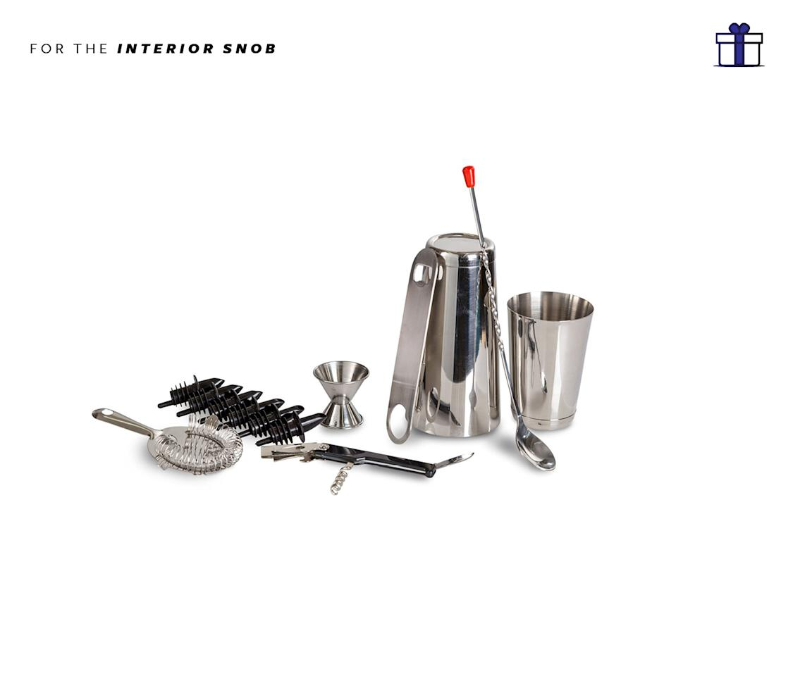 "<p>For the cocktail extraordinaire, this is a must! Chef land 13 piece stainless steel bar set, $17.59, <a rel=""nofollow"" href=""https://www.amazon.com/ChefLand-Stainless-Professional-Including-Corkscrew/dp/B004LD54OO/ref=gbps_img_m-5_7cf5_9c32abaf?smid=ATVPDKIKX0DER&pf_rd_p=77615426-c6b2-4e4e-991e-6df135937cf5&pf_rd_s=merchandised-search-5&pf_rd_t=101&pf_rd_i=12555661011&pf_rd_m=ATVPDKIKX0DER&pf_rd_r=EGW25GGN3M09KVVRR8N4"">amazon.com</a> </p>"