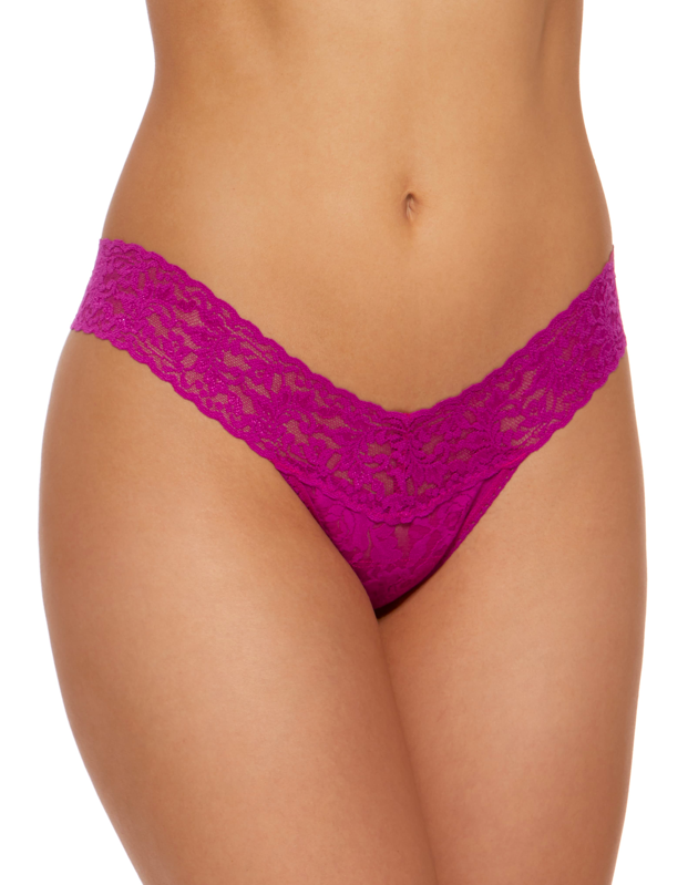"""Now is the time to stock up on Hanky Panky's famously <a href=""""https://www.glamour.com/story/most-comfortable-thongs?mbid=synd_yahoo_rss"""" rel=""""nofollow noopener"""" target=""""_blank"""" data-ylk=""""slk:comfy thong"""" class=""""link rapid-noclick-resp"""">comfy thong</a>, available in all the colors of the rainbow. $22, Nordstrom. <a href=""""https://www.nordstrom.com/s/hanky-panky-low-rise-thong-buy-more-save/2987627"""" rel=""""nofollow noopener"""" target=""""_blank"""" data-ylk=""""slk:Get it now!"""" class=""""link rapid-noclick-resp"""">Get it now!</a>"""