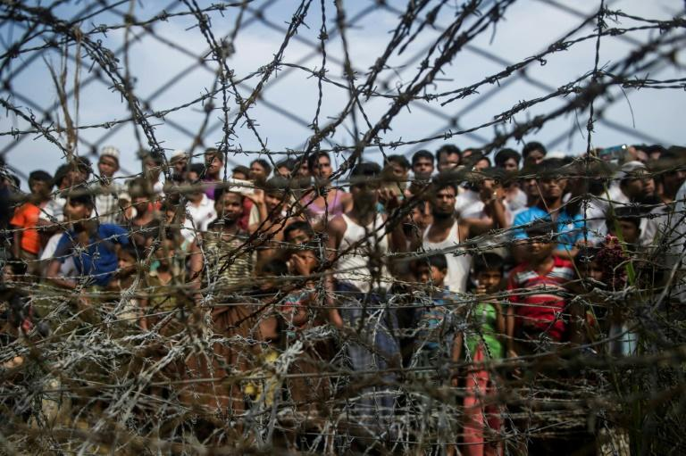 The UN team said 600,000 Rohingya still inside Myanmar's Rakhine state remain in deteriorating and 'deplorable' conditions (AFP Photo/Ye Aung THU)