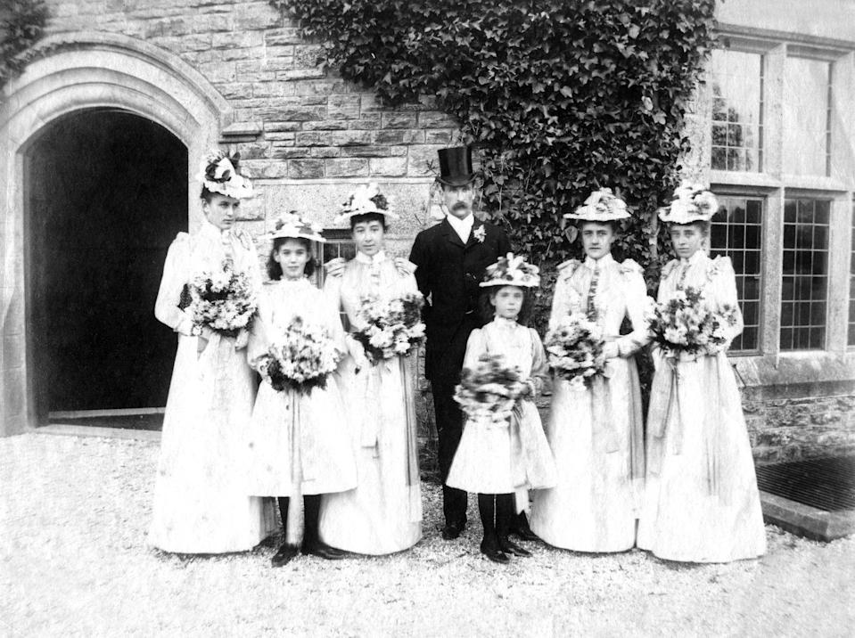 """<p>The best thing about your Victorian bridesmaid dress? You could shorten it after the wedding and wear it again. We kid you not, this line has been going around since the 19th century and Victorian women really would <a href=""""http://www.avictorian.com/weddingattire.html"""" rel=""""nofollow noopener"""" target=""""_blank"""" data-ylk=""""slk:repurpose their bridesmaid dresses"""" class=""""link rapid-noclick-resp"""">repurpose their bridesmaid dresses</a> for everyday wear.</p>"""