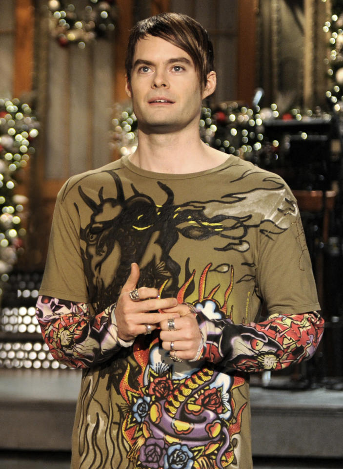 "Supporting Actor in a Comedy Series: Bill Hader, ""Saturday Night Live"""