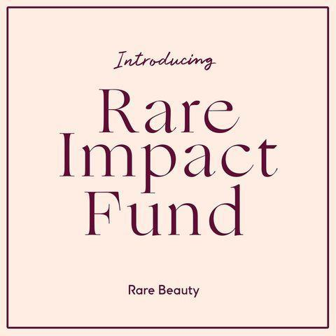 """<p>Along with her beauty line, Gomez announced the <a href=""""https://people.com/style/selena-gomezs-rare-beauty-launches-100-million-mental-healthcare-initiative-for-underserved-communities/"""" rel=""""nofollow noopener"""" target=""""_blank"""" data-ylk=""""slk:Rare Impact Fund"""" class=""""link rapid-noclick-resp"""">Rare Impact Fund</a>, with the goal of raising $100 million over the next 10 years to connect people in underserved communities with much-needed mental health services.</p> <p>""""Since the brand's inception, we wanted to find a way to give back to our community and further support people who needed access to mental health services, which have had a profound impact on my life,"""" Gomez said in a press release.</p> <p>One percent of all Rare Beauty sales — as well as funds raised from partnerships with leading foundations, companies and nonprofit organizations — will be donated to the Rare Impact Found to provide tools, resources and support to those struggling with their mental health.</p>"""